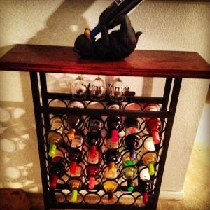 My lovely wine rack